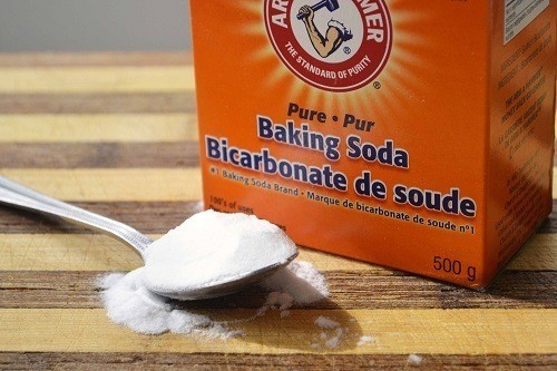 Spoon With Baking Soda