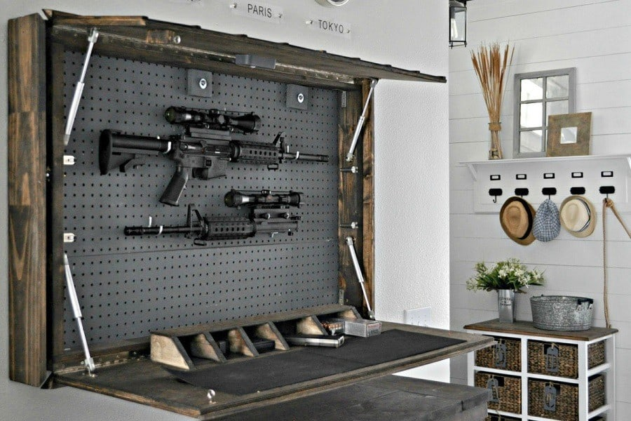 How To Make A Diy Gun Cabinet The Easy Way Keepgunssafe