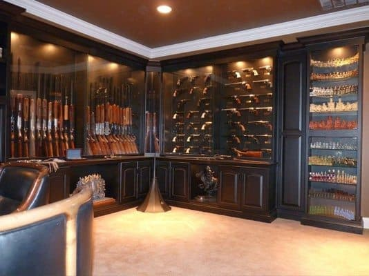 Display Cabinets for Guns