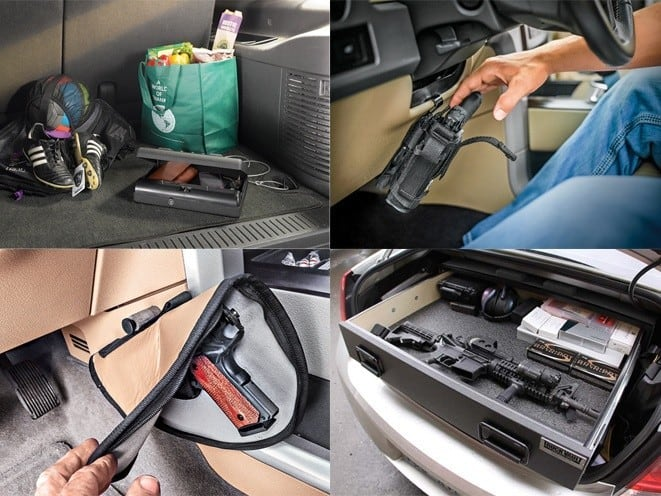 Different Gunsafes in Cars
