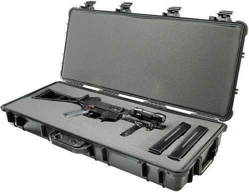 Hard Gun Case with SMG