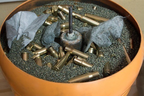 Ammo In Cartridge Case Cleaner