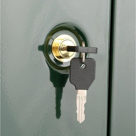 Stack-On Double-Door Steel Security Cabinet Key