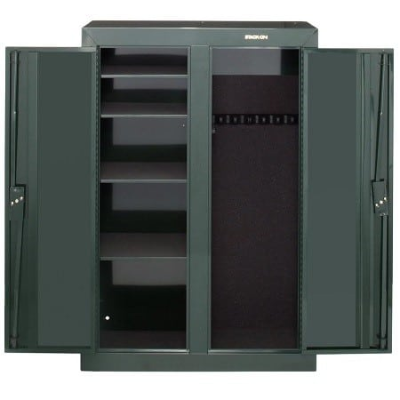 Stack on 16 gun steel security cabinet review for 10 gun double door steel security cabinet