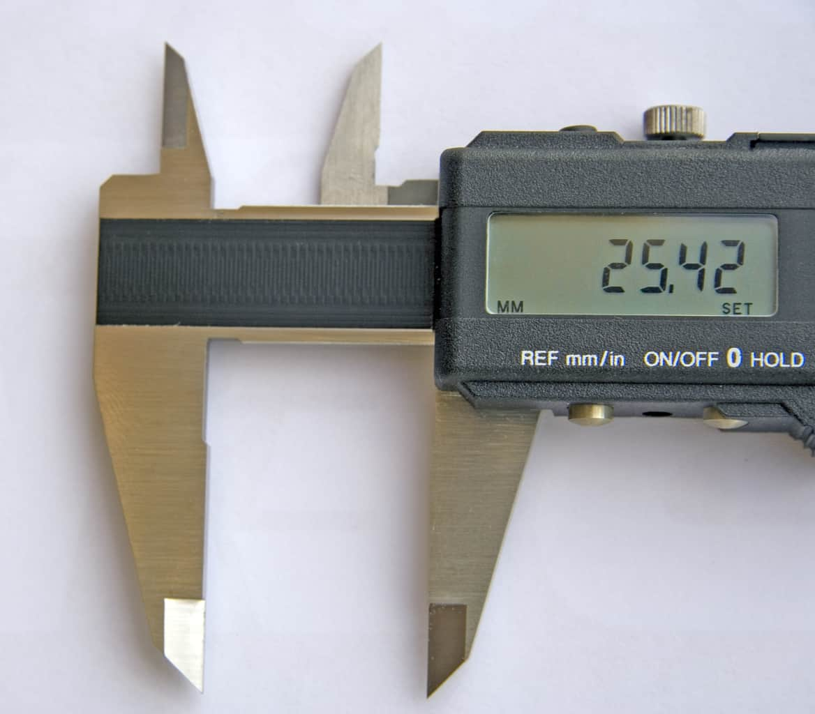 Caliper used for reloading