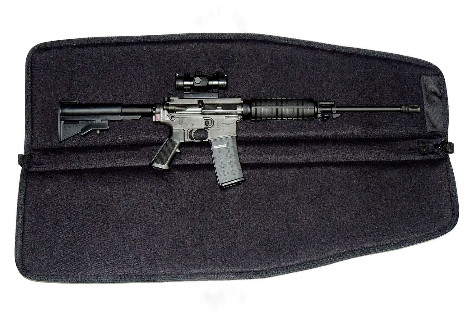 Best gun case size for an AR 15