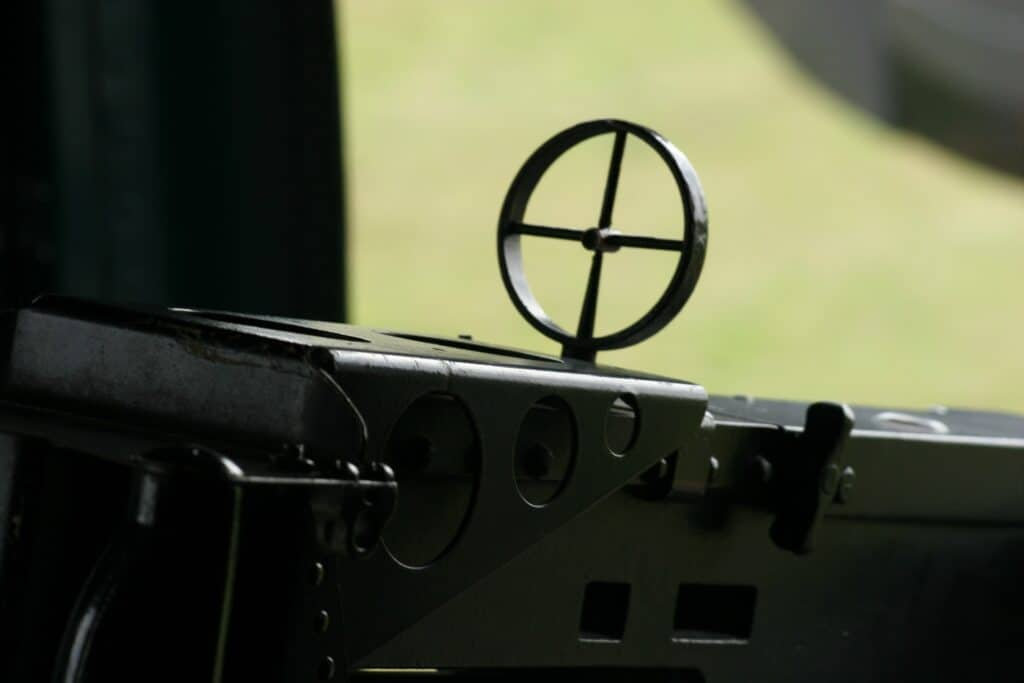 Rifle with a focal feature