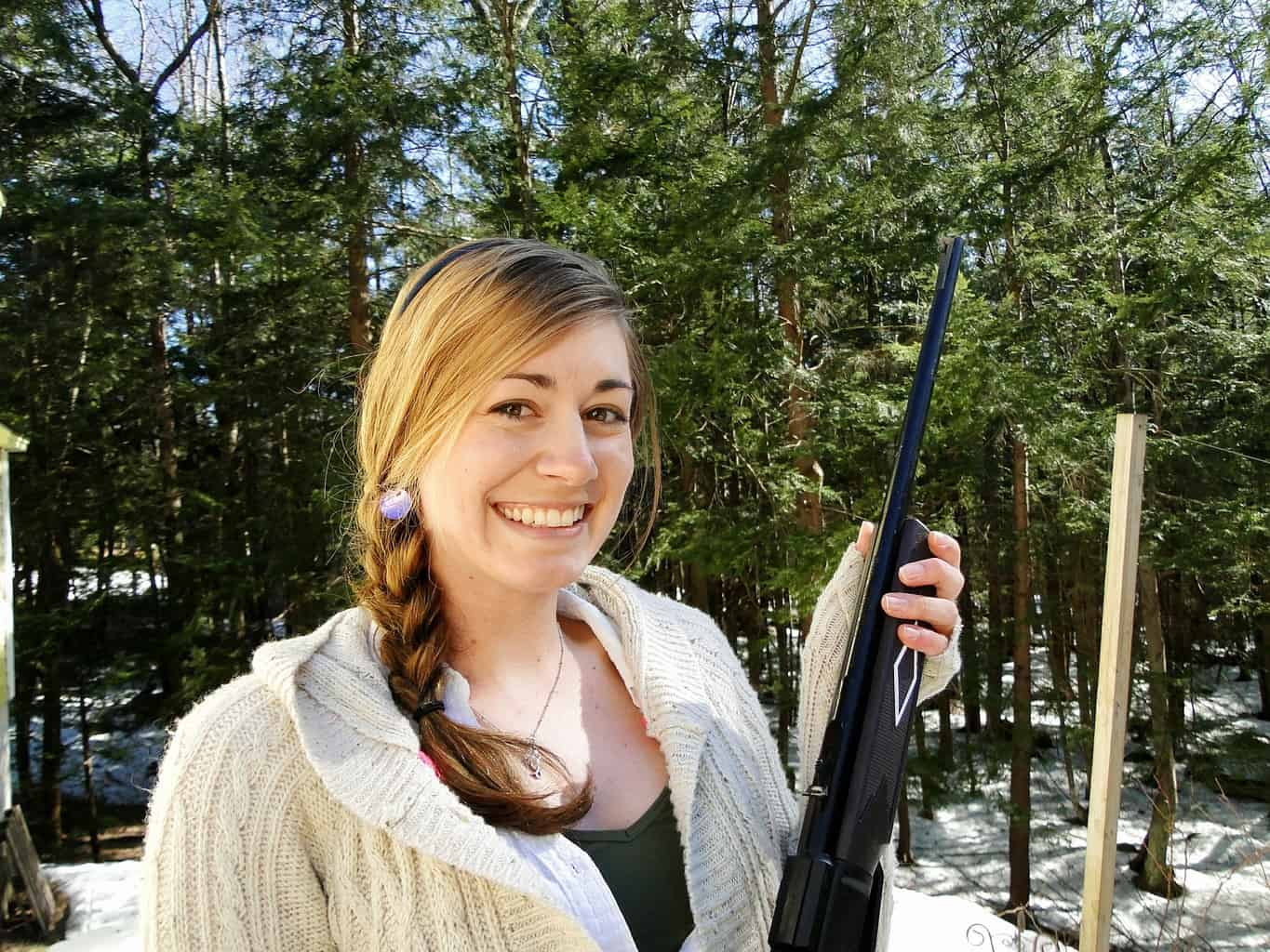 Woman wondering if she needs a gun permit to shoot at a gun range in Delaware